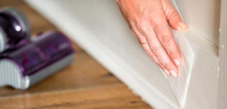 Reduce Dust on Trim! Your Tuesday Tip from Express Handyman